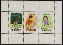 Suriname 1985 Blokje Voor het Kind, pour l'enfance MNH/**/Postfris