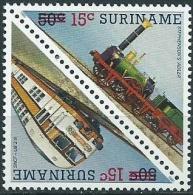 Suriname 1986 serie courante