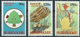 Suriname 1987 Bosbeheer, Commission Nationale des F�rets