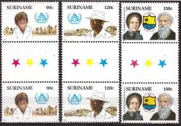 Suriname 1987 Daklozen, Logement des sans-abri, Leger des Heils, Salvation army MNH/**/Postfris