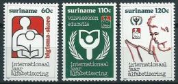 Suriname 1990 Analfabetisme jaar MNH/**/Postfris