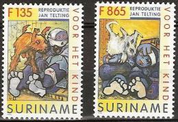 Suriname 1996 Voor het Kind - honden, dogs  MNH/**/Postfris