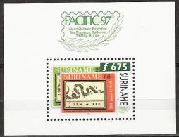 Suriname 1997 Pacific '97, 200 jaar USA.  MNH/**/Postfris