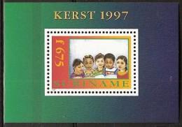 Suriname 1997 blokje Kerst, Christmas MNH/**/Postfris