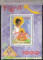 Suriname 1999 Blokje Kerst 1999. MNH/**/Postfris
