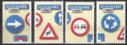 Suriname 2000 Traffic Signs, verkeersborden, safety MNH/**/Postfris