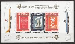 Suriname2006 Blokje EUROPA EUROPE MNH/**/Postfris