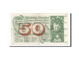 Suisse, 50 Franken, 1965, KM:48e, 1965-01-21, TTB - Switzerland