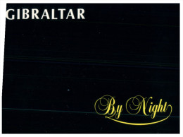 (185) At Night - La Nuit  - Black Card - Gibraltar - Gibraltar