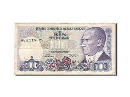 Turquie, 1000 Lira, 1986, KM:196, 1986, TB - Turchia