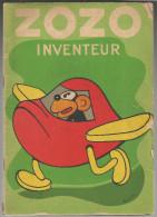 G-I-E , ZOZO INVENTEUR , texte et dessins de FRANCHI , 1942 , 2 scans ,  frais fr : 2.70�
