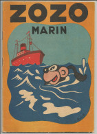 G-I-E , ZOZO MARIN , texte et dessins de FRANCHI , 1942 , 2 scans ,  frais fr : 2.70�