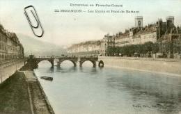 EXCURSION EN FRANCHE COMTE - BESANCON -25- LES QUAIS ET PONT DE BATTANT - Besancon