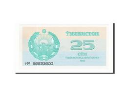 Uzbekistan, 25 Sum, 1992, KM:65a, 1992, NEUF - Uzbekistán