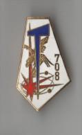 INSIGNE 708° BGE BATAILLON DE GUERRE ELECTRONIQUE , émail - DRAGO G 2156 - Armée De Terre