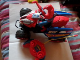 Lot De 2 Grand Quads Spiderman Marvel - Spiderman