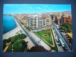 Greece: Salonique Vue Du Quais, Thessalonika View Of The Quay, Thessaloniki Ansicht Des Kais - 1966 - Grèce