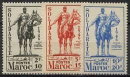 Maroc, N° 241 à N° 243** Y Et T - Morocco (1891-1956)