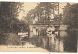 Canal De LACANAU à CARCANS -  Le Pont Du Montaut  61 - Ohne Zuordnung