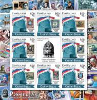 GUINEA BISSAU 2012 - Philatelic Exposition ROSSICA´2013 - YT 4191-8, Mi 5730-7 - Space
