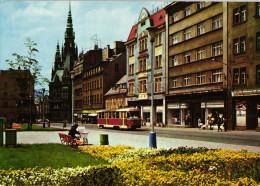 Liberec - Tr. 5. Kvetna, V Pozadi Radnice - Tschechische Republik
