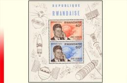 Rwanda BL 005** Kennedy  MNH - Rwanda
