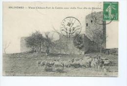 Gard.Salindres.la Tour Bécamel Et Le Vieux Chateau De Cambis - France