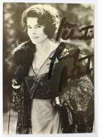 Actrice - Fanny ARDANT - Hand Signed, Dédicace, Signé - Autographe Authentique- - Acteurs