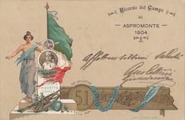 REGGIMENTALI - 51° REGGIMENTO FANTERIA / CACCIATORI DELLE ALPI / ERRORE CORRETTO / DICITURA RICORDO DEL CAMPO..  - SX109 - Regimenten