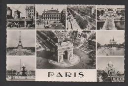 DF / 75 PARIS / CARTE MULTIVUES - France