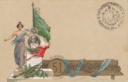 REGGIMENTALI - 51° REGGIMENTO FANTERIA / CACCIATORI DELLE ALPI / ERRORE S. VERMO ANZICHE´ SAN FERMO - SX109 - Regimenten