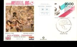 FIFA WORLD CUP 1986 MEXICO 86 ENGLAND PARAGUAY - Wereldkampioenschap