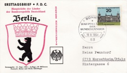 Germany FDC 1964 Berlin (G81-64) - [7] Federal Republic