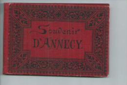 Haute Savoie.Annecy Carnet  Format 13cm X 9cm De 12 Vues - Annecy