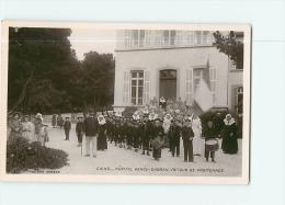 GIENS : Bataillon Scolaire, Retour De Promenade, Sanatorium Hôpital Sabran. 2 Scans.  Edition Vargoz - Sonstige Gemeinden
