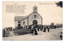 Loire Atlantique : Préfailles : Sortie De Messe - Préfailles