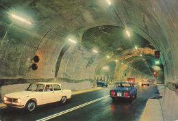 1965 Courmayeur  Entrève  Tunnel  Que D' Alfa Roméo Giulietta ! - Altre Città