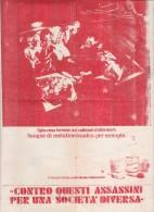 MANIFESTO STAMPA ALTERNATIVA SATIRA ITALSIDER ANNI 70