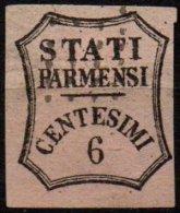 PARME - 6 C. Oblitéré FAUX - Parma