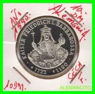 ALEMANIA  DBR.  MONEDA DE 10 DM CONMEMORATIVA  AÑO 1990- F  PROOF - [10] Commemorative