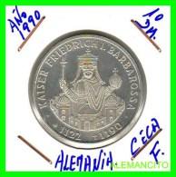 ALEMANIA  DBR.  MONEDA DE 10 DM CONMEMORATIVA  AÑO 1990- F - [10] Conmemorativas