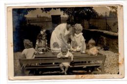 LE GAULT LA FORET - POUPONNIERE DE BLONNAY Soigny Marne Assistance Publique Orphelinat Enfance Carte Photo Rare - Frankrijk