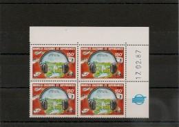 NOUVELLE CALÉDONIE Année 1987 Coins Datés  P.A. N°Y/T : 255** - Poste Aérienne