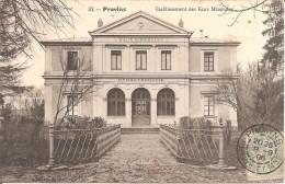 PROVINS (77) Etablissement Des Eaux Minérales En 1906 - Provins