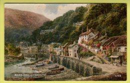 Devon - Lynmouth, Mars Hill By Brian Gerald  - Valentine Postcard - Lynmouth & Lynton