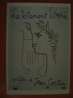 CPM ILLUSTRATEUR  J. COCTEAU - N°1603C LE TESTAMENT D'ORPHEE 1960 - Cocteau