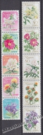 Japan - Japon 2008 Yvert 4359-68, Flora, Flowers -  MNH - 1989-... Emperador Akihito (Era Heisei)