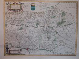 - RARE - Ancienne Carte Du Lionnois XVIIème Siècle. - - Geographical Maps