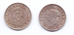 Jamaica 1/2 Penny 1897 - Jamaica