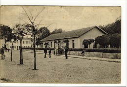 Carte Postale Ancienne Peniche - Frente Do Passelo Publico - Portugal